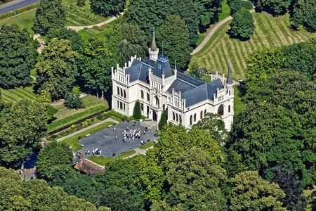 Luftaufnahme Schloss Evenburg