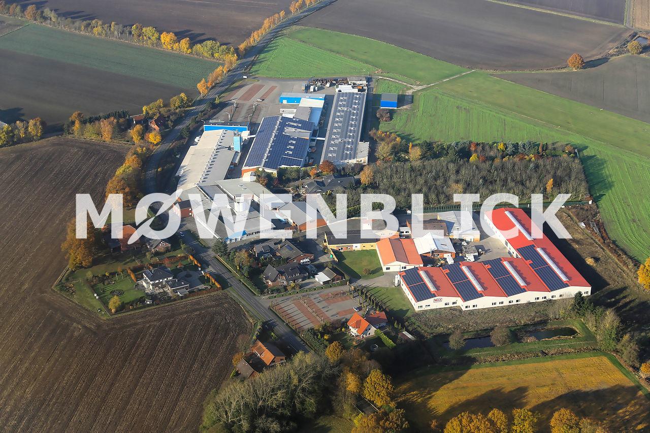 Industriegebiet Lahr Luftbild