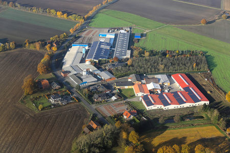 Luftaufnahme Industriegebiet Lahr