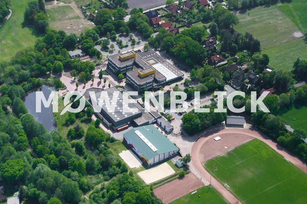 Haupt- und Realschule Luftbild