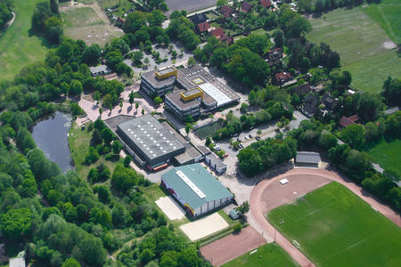 Luftaufnahme Hauptschule