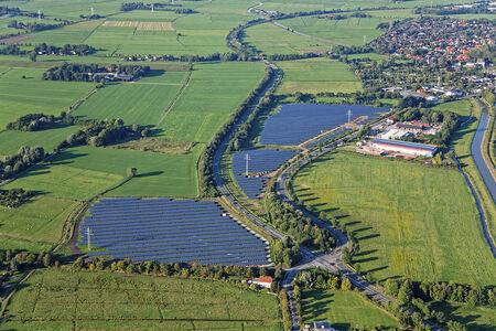 Luftaufnahme Solarpark