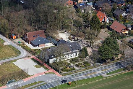 Luftaufnahme Kindergarten