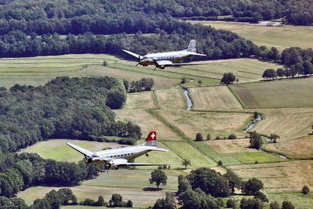 Luftaufnahme 70 Jahre Luftbrücke