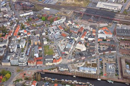 Luftaufnahme Bahnhofsviertel