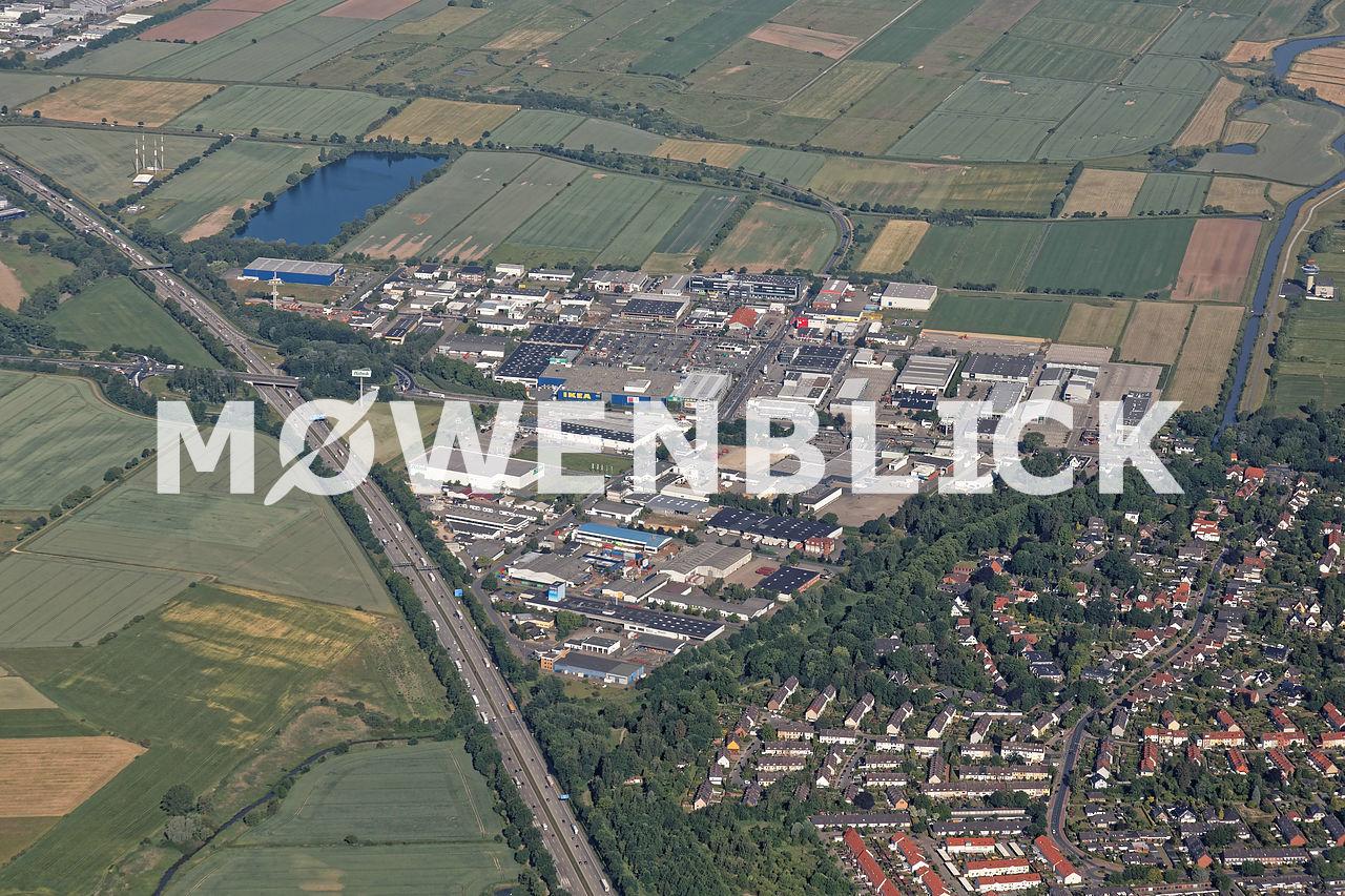 Brinkum-Nord Luftbild