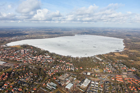 Luftaufnahme Zugefrorenes Meer
