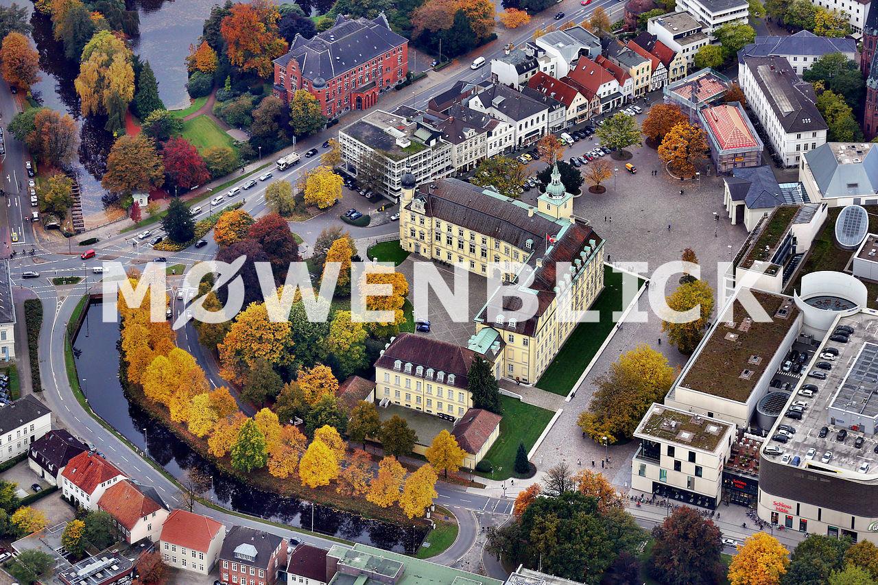 Schloss Oldenburg Luftbild