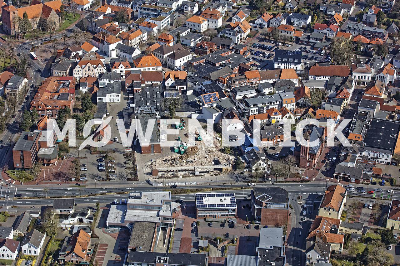 geplante Parkanlage Luftbild