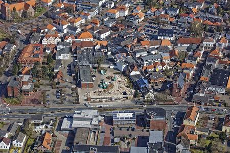 Luftaufnahme Parkhaus