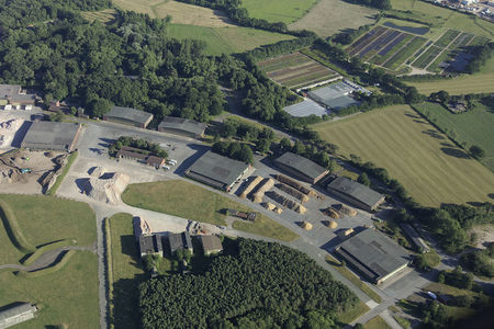 Hangars am Fliegerhorst