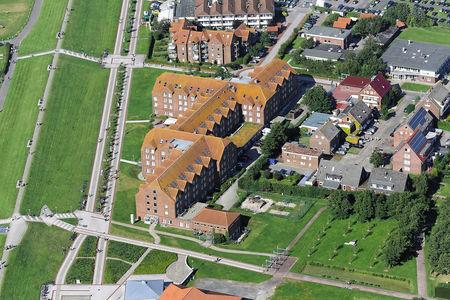 Luftaufnahme Klinik Norddeich