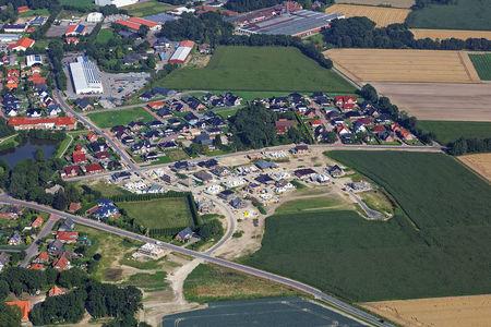 Luftaufnahme Bokeler Straße Neubaugebiet