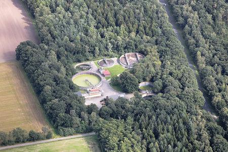Luftaufnahme Klärwerk