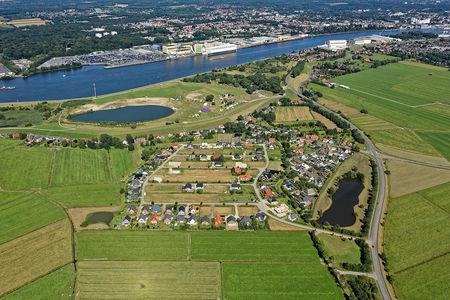 Luftaufnahme Lemwerder Bardewisch