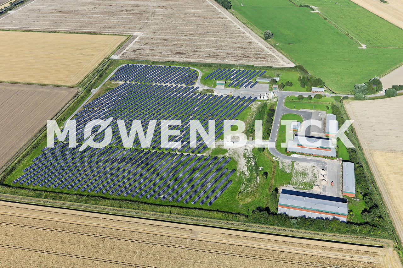 Solaranlagen Luftbild