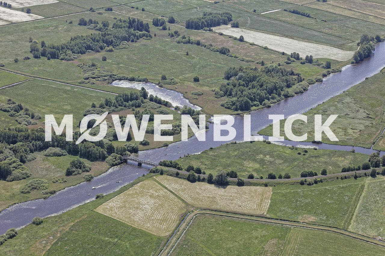 Hamme Kirchdammgraben Luftbild