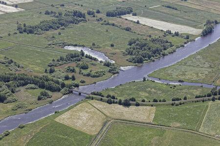 Luftaufnahme Hamme Kirchdammgraben