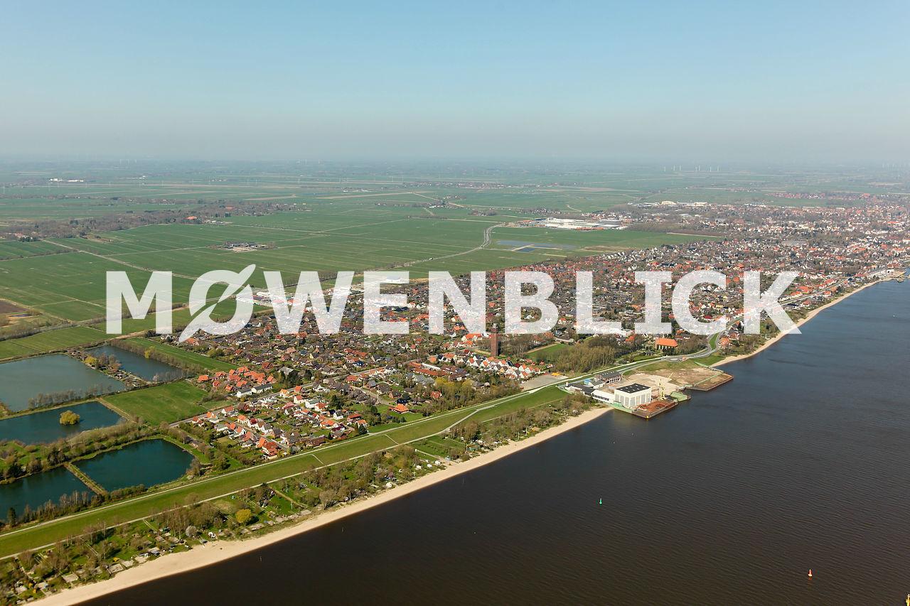 Hammelwarden Luftbild