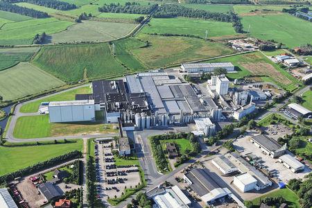 Luftaufnahme Deutsches Milchkontor