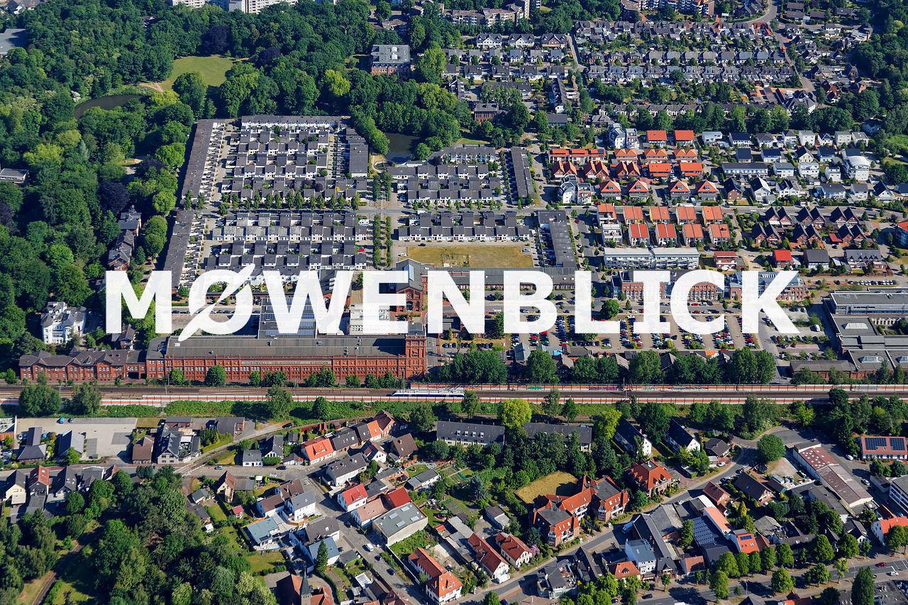 Nordwolle Luftbild