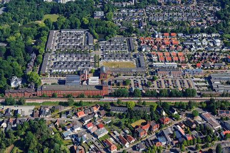 Luftaufnahme Industrieanlagen