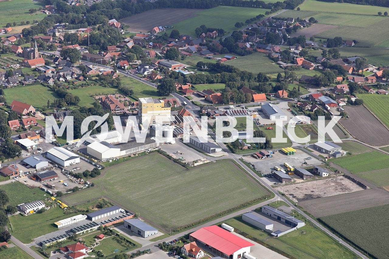 Gewerbegebiet Luftbild