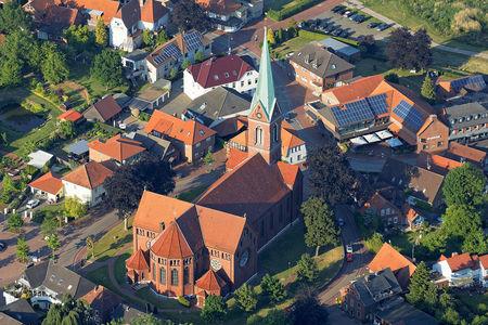 Luftaufnahme Katholische Kirche Goldenstedt