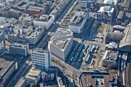 Luftaufnahme City Gate Bremen
