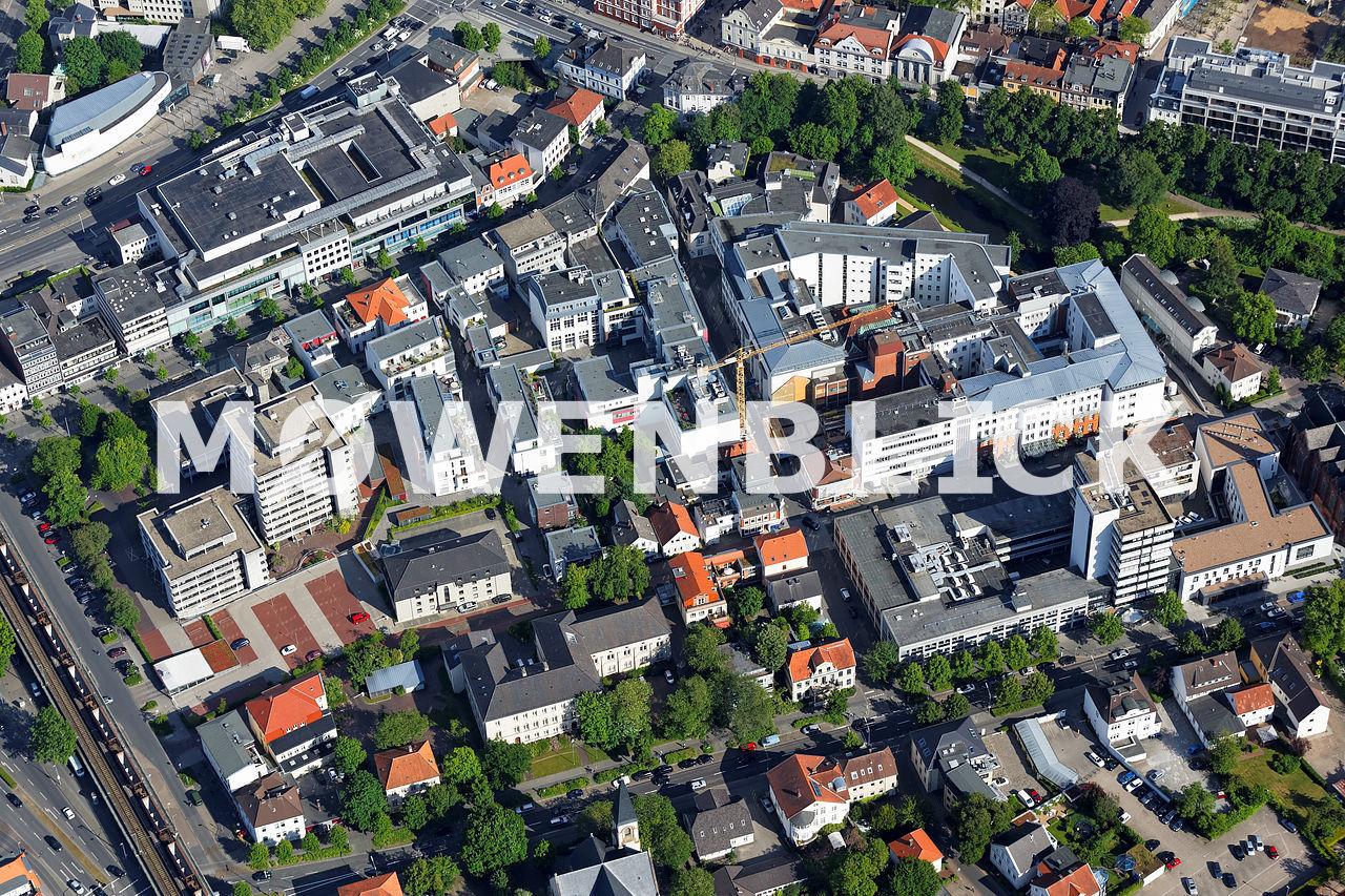 Heiligengeistviertel Luftbild