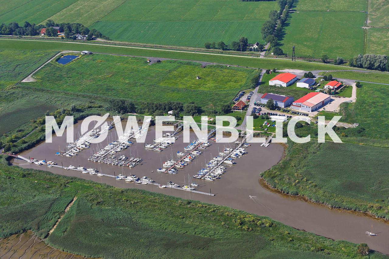 Sportbootverein Luftbild