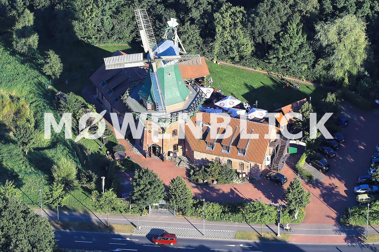 Don Quichotte Senfmühle Luftbild
