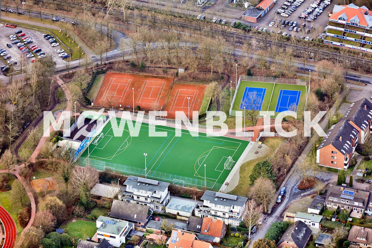Sportplätze Luftbild