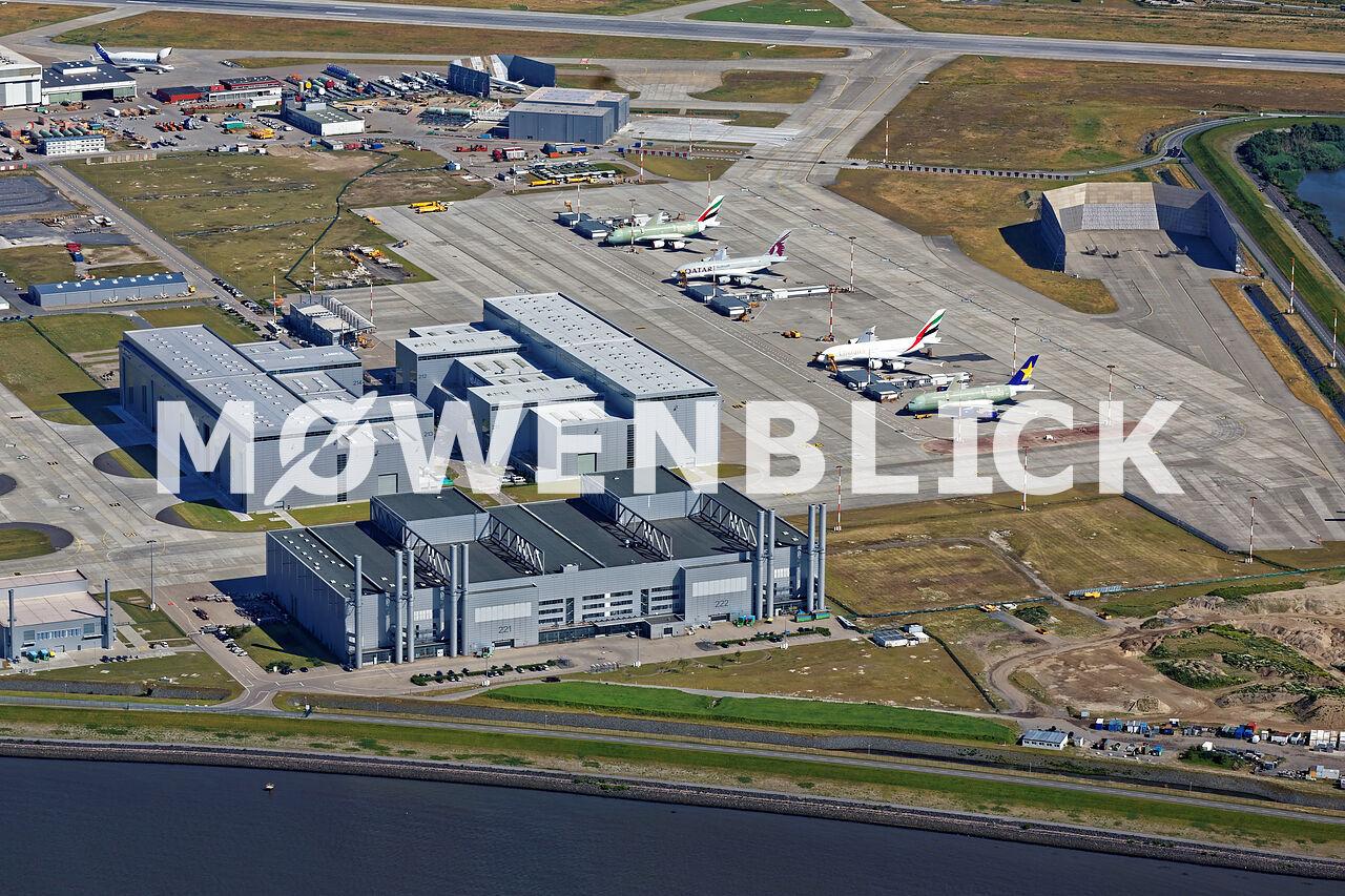 Airbuswerk Luftbild