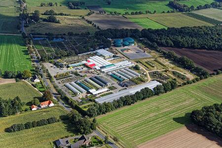 Luftaufnahme Fricke's Gartencenter