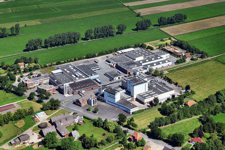 Luftaufnahme Milchwerk Strückhausen
