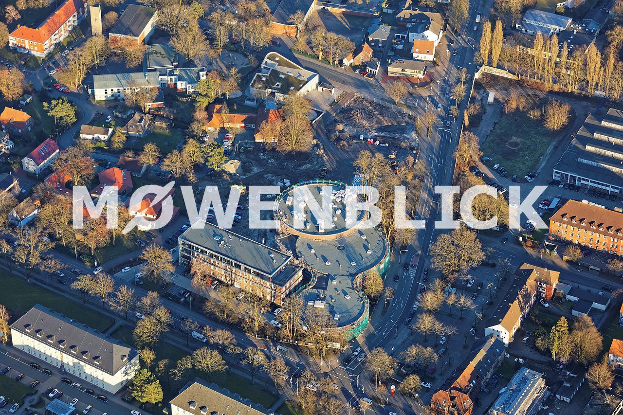 Irma Baustelle Kreyenbrück Luftbild
