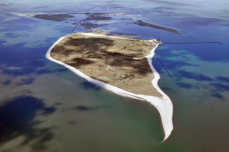 Luftaufnahme Insel