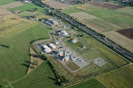 Luftaufnahme Verdichterstation