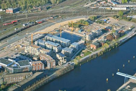 Alter Stadthafen Hafenpromenade