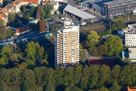 Luftaufnahme IDUNA Hochhaus