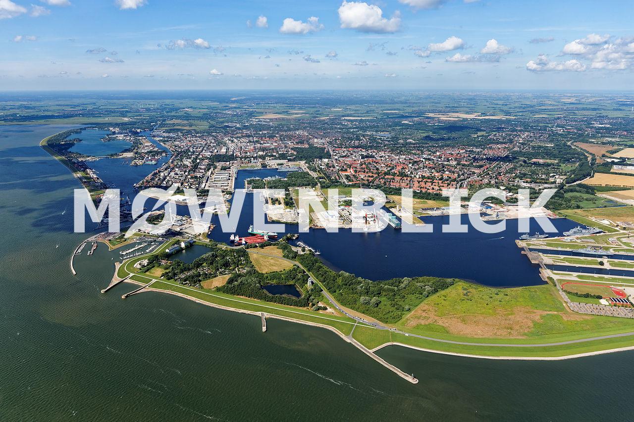 Hafenanlagen Luftbild