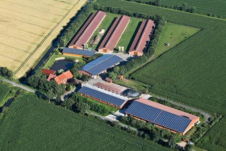 Luftaufnahme Behrens Agrar