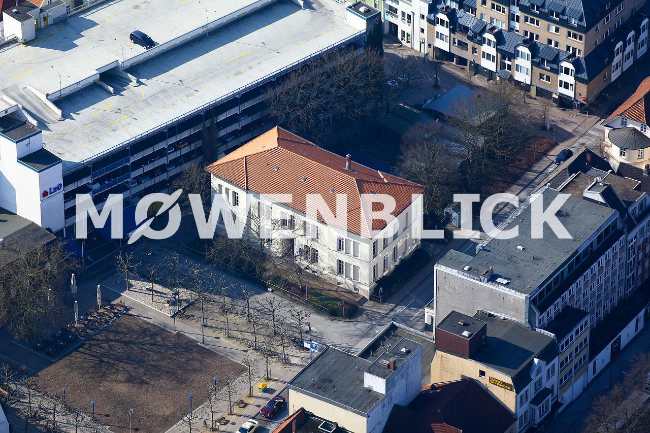 ehemalige Knabenschule Luftbild