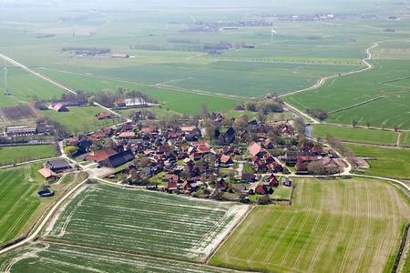Luftaufnahme Runddorf