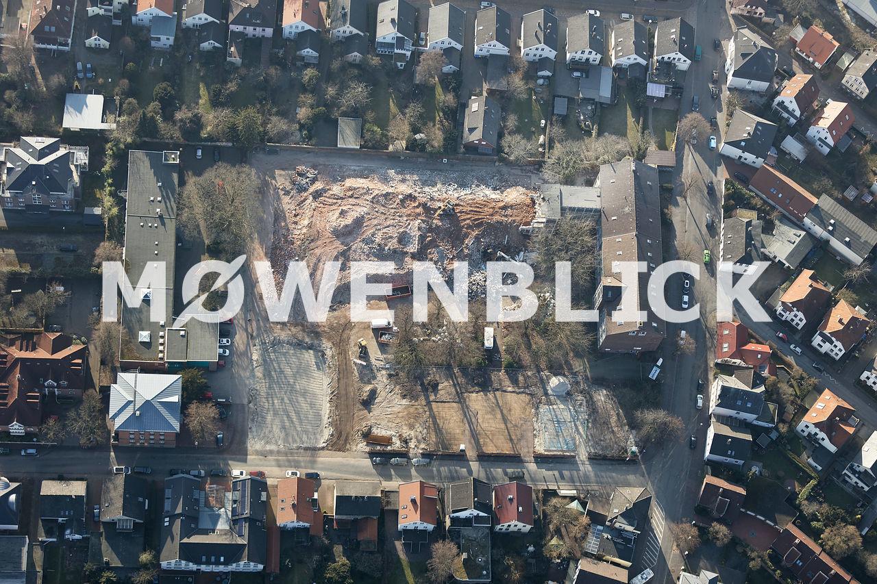 Abriss Willersstraße Luftbild