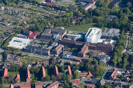 Luftaufnahme Hans-Susemihl-Krankenhaus Klinik