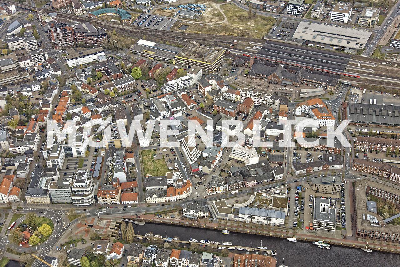 Hafenviertel Luftbild
