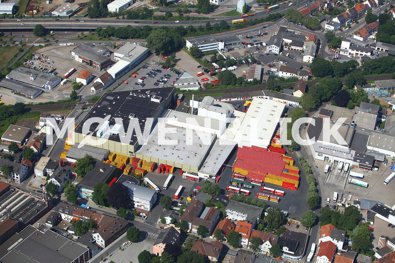 Coca-Cola Werk Hemelingen Luftbild