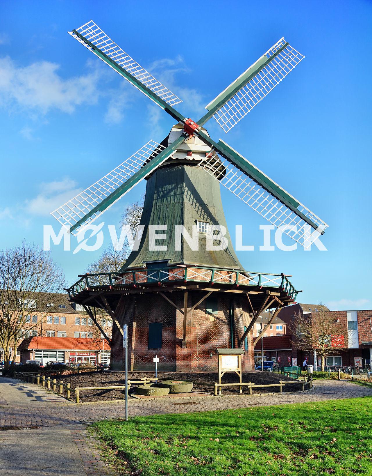 Kopperhörner Mühle Luftbild